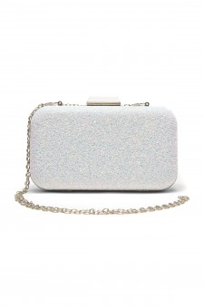 SZY-E8305- Georgeous glitter bling bling evening clutch (White)