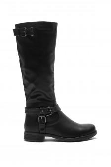 Zayylan Black Riding Knee high Boots