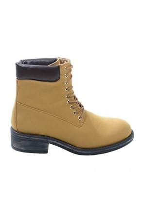 Women's Tan Berla Lace-up Work Boot