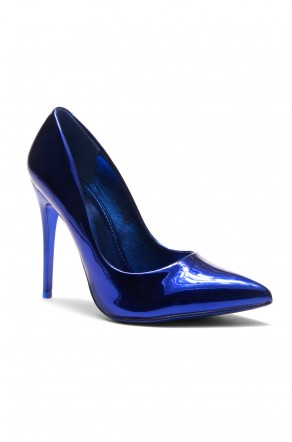 HerStyle Daynna Pointy Toe Stiletto Pump(Royal Blue)
