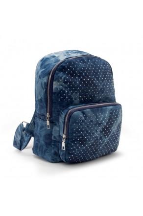 HBG103074-Women's Trendy Mini Backpack (DarkBlue)
