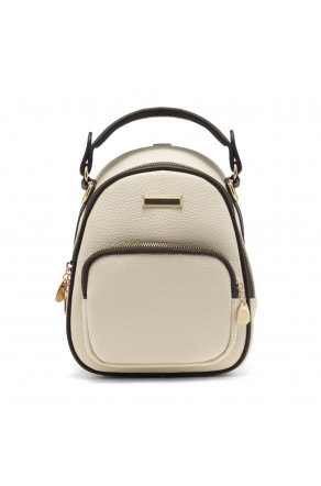 SLD-BETTY- Women's Trendy Mini Backpack (White)