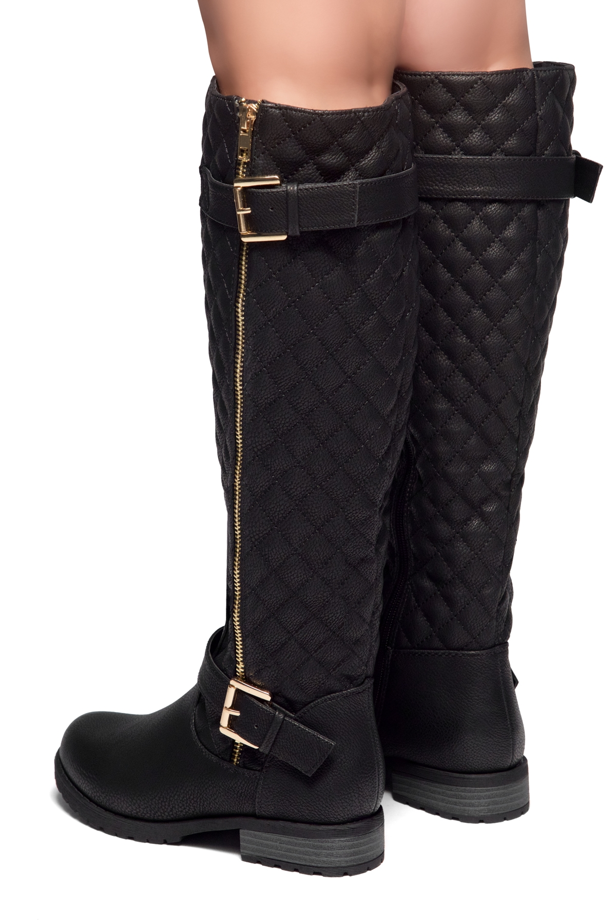 34957d82baed Women s Black Lorreenn-Hi Women s Quilted