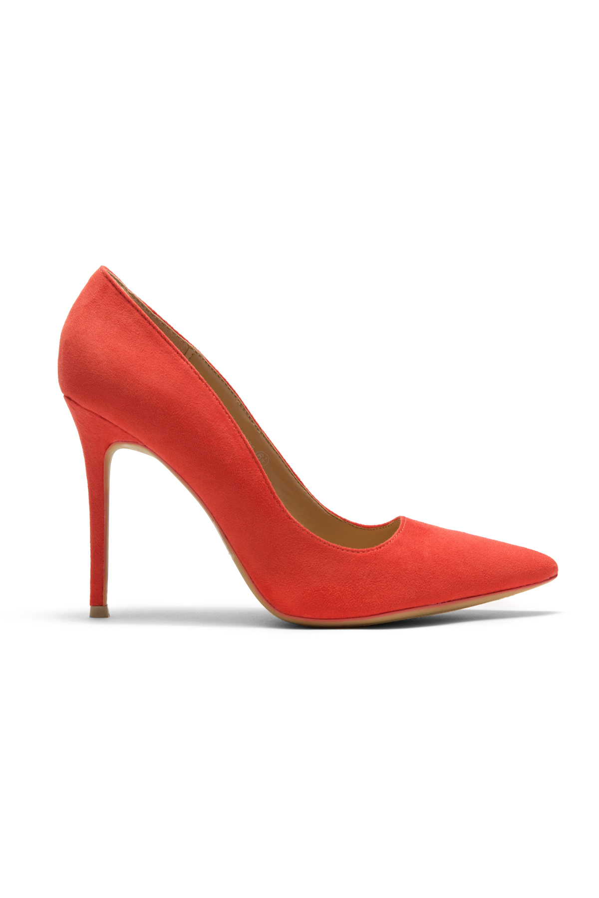 89b0df1f0f Women's Coral Manmade Marneena 4-inch Sueded Heel with Lightly Pointed Toe