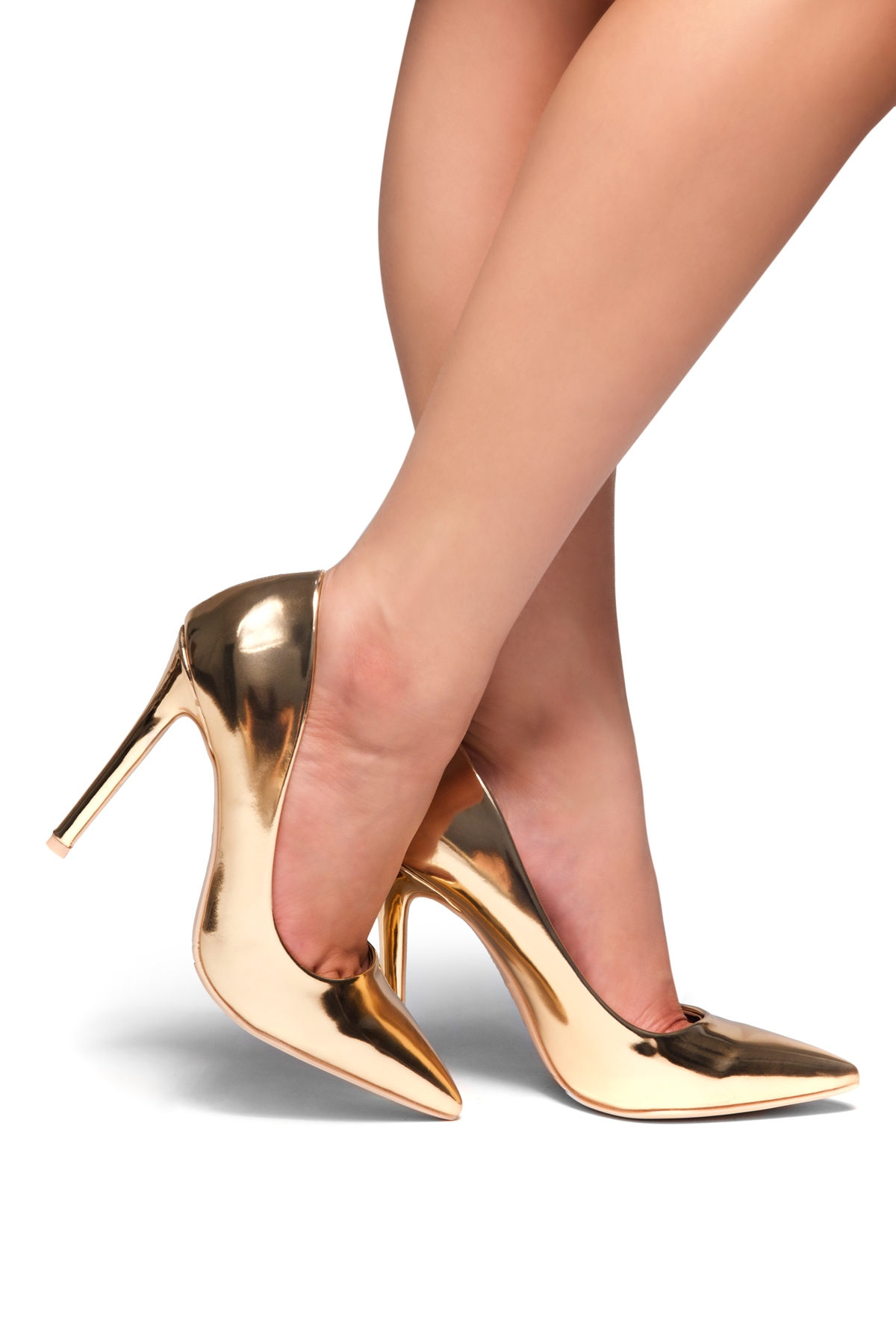 69d0812bae HerStyle Marneena-Women's Manmade 4-inch Sueded Heel with Lightly Pointed  Toe (Rose Gold)