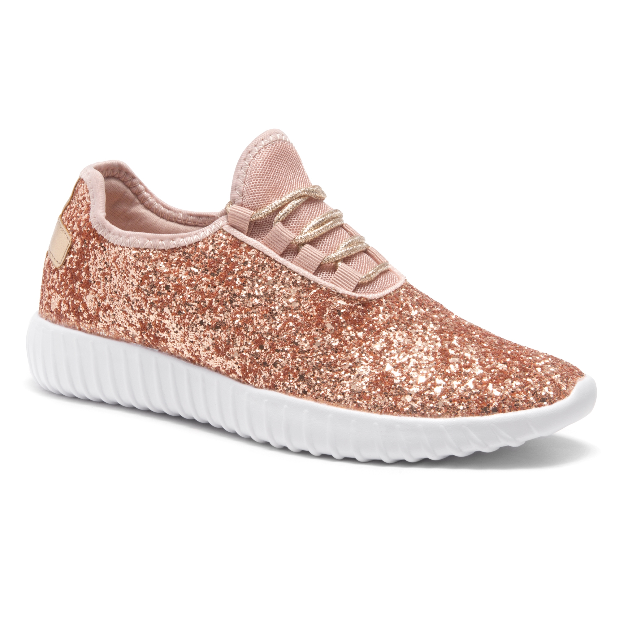 112af2b04ccc HerStyle Moniqie lightly padded insole sneakers (RoseGold)