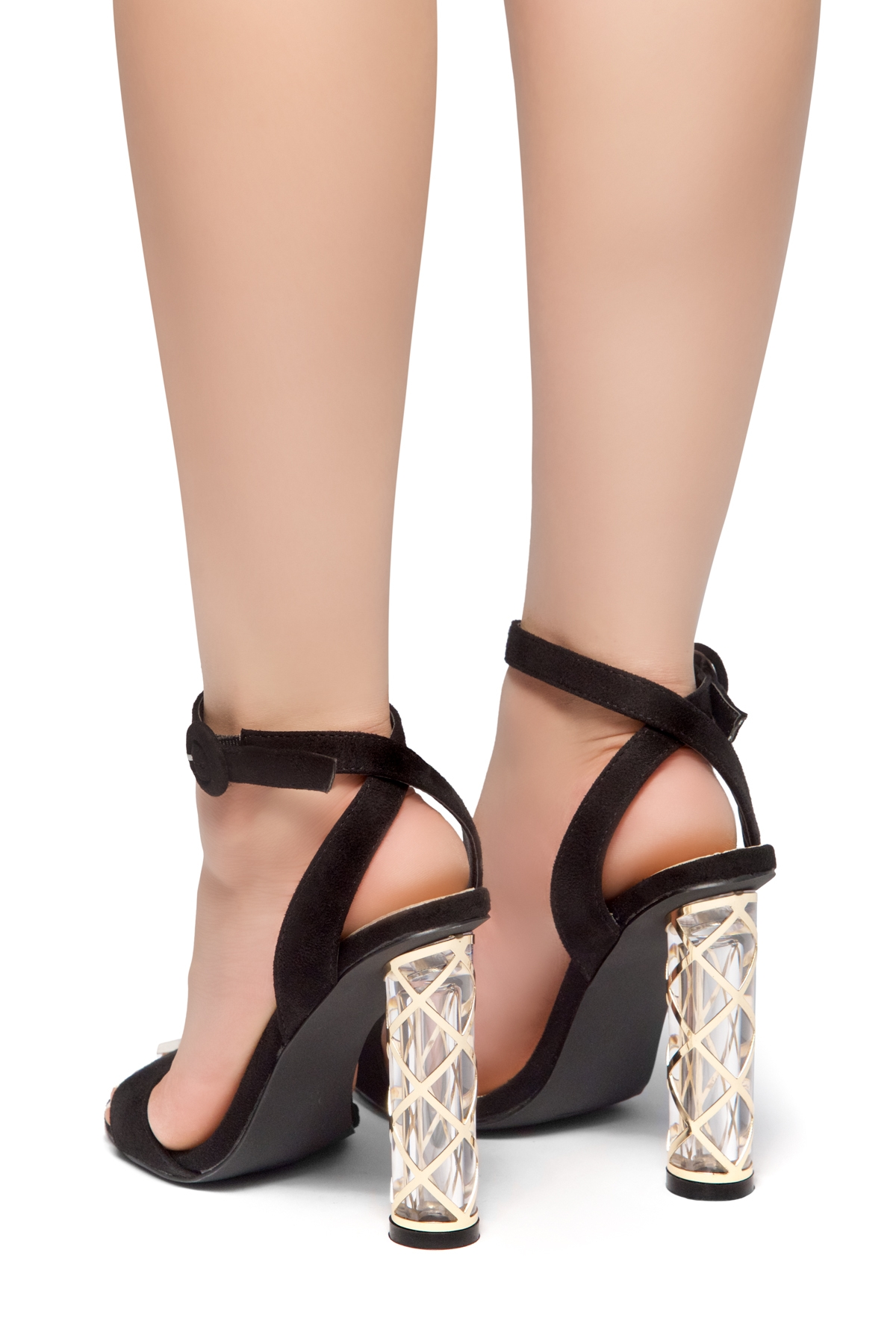 1b2c28052 HerStyle Out Shine-Perspex heel