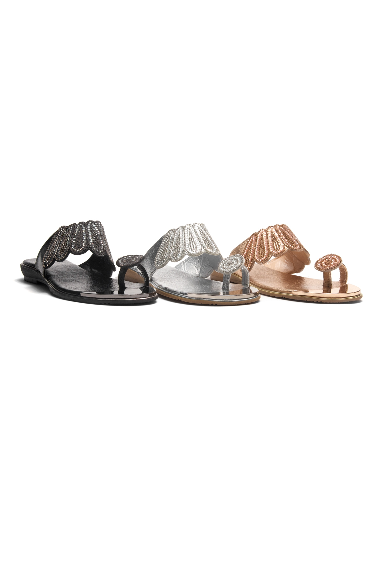 51a09879c HerStyle SHOWSTOPPER- Toe Ring with blink blink jeweled embellishment vamp