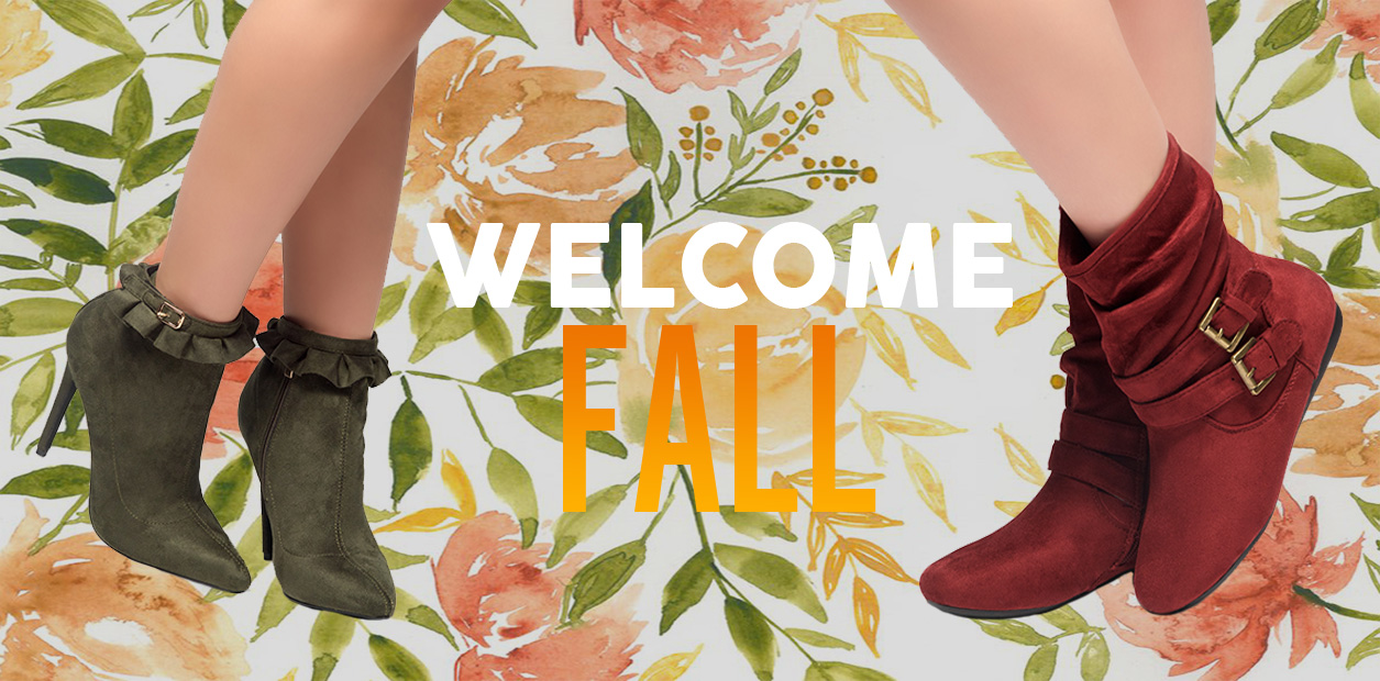 BANNER WELCOME FALL