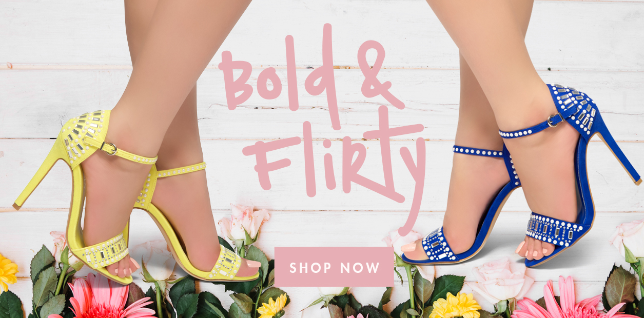 ShoeLand_Spring_BoldAndFlirty_Banner