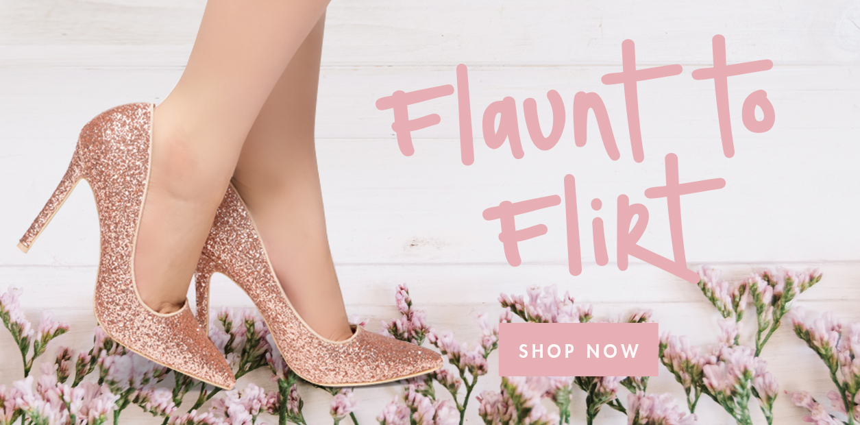ShoeLand_Spring_FlauntToFlirt_Banner