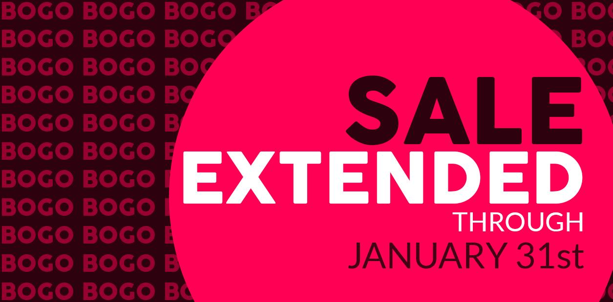 BOGO BANNER SHOELAND EXTENDED SALE