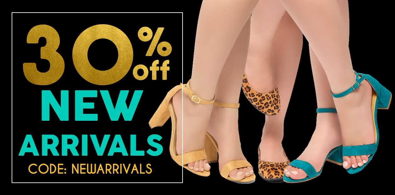 30% Off on New Arrivals